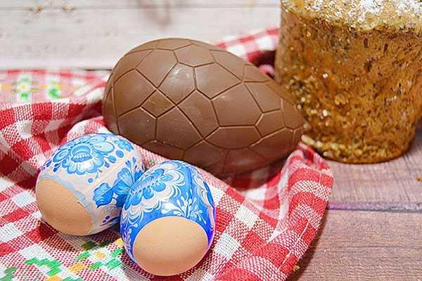 Шоколадное яйцо с сюрпризом: рецепт с фото